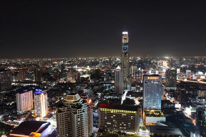 endast flyg till bangkok